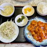 美味鮮 - エビチリランチ¥680