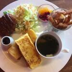 コスミック カフェ&レストラン - フレンチトースト:1000円