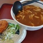 山田うどん - 料理写真:カレーうどん 540円