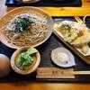 工房蕎麦小屋 - 料理写真:天ざるそば2021.04.04