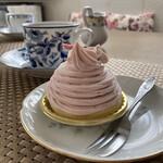 パティスリー・キハチ - 料理写真:桜のモンブラン。