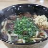 うどん処 ひら田 - 料理写真:肉うどん(650円→500円)