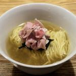 らぁ麺 はやし田 - 料理写真:函館塩800円