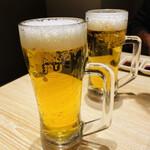 万両 - 生ビール