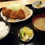 とんかつとん平 - 料理写真:ヒレかつ定食