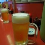 雲龍亭 - 生ビール