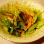 レストラン ガス灯 - ランチのサラダ