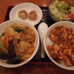 四川亭 - オフピークランチ 4品ミニコース
