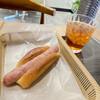 クラウンベーカリー - 料理写真:バジルソーセージ、アイスティーR