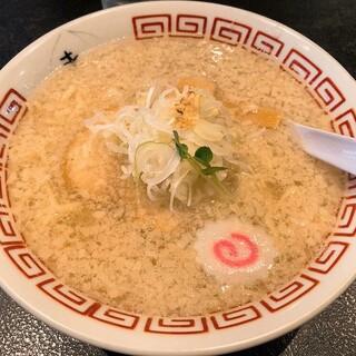 中華そば きび - 料理写真:こってり背脂中華そば(750円)