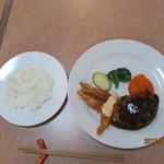 キッチン カトウ - 2012.9.16 自家製ハンバーグ(M)