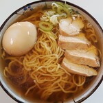 つらら - 料理写真:北海道 オホーツクの塩ラーメン350円