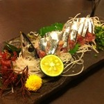 和食レストラン 志津加 - 料理写真:さんまの刺身