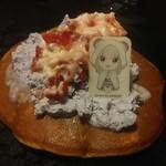 道とん堀 - エミリアの美女風パンケーキ