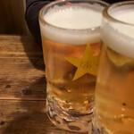 149425773 - 生ビールで乾杯♪♪                         2020/12 by  みぃこのごはん日記