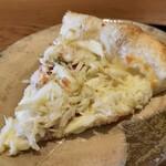 149426367 - 松葉蟹とチーズのピッツァ
