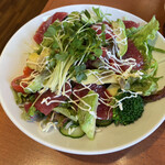 江戸前 びっくり寿司 - 海鮮サラダ