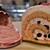 ケーキショップ コフレ - 料理写真:桜モンブランに桜ロールケーキ