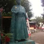 14943588 - 立会川駅前の龍馬像