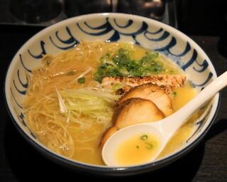 鶏そば 三歩一 - 2012.9 濃厚鶏そば(750円)