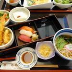 亀庵総本店 - 料理写真:レディース膳、茶碗蒸しは遅れて提供
