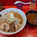 麺屋 桐龍 - 料理写真:つけ麺  300g  ¥900 豚二枚   ¥200