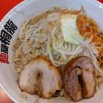 麺屋 桐龍 - つけ麺  300g   アブラちょいマシ、七味、魚粉