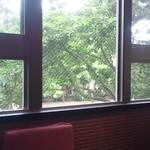 一龍 - 2階座敷から外の様子が見えました♪