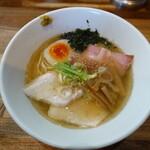 麺屋 一八 - 焼き煮干しラーメン(860円)