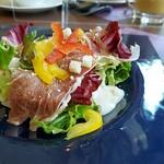 ビュッフェ&カフェレストラン ナイト&デイ - 生ハム&シーザーサラダ
