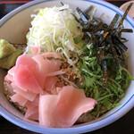 鯖と創作料理の店 廣半 - 鰯漬け丼