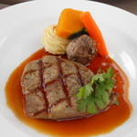 14945075 - 牛ロース肉のグリエ