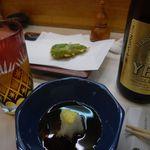 天ぷら天兵 - 野菜天ぷらとヱビスビール