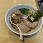 かみの屋 - 料理写真:長岡中華そば¥700 チャーシュー増し¥150