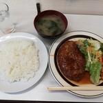 七福 - 料理写真:ハンバーグライス