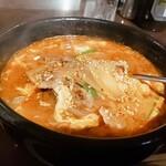 149457611 - ⚫ユッケジャンクッパ スープの取り方もgood