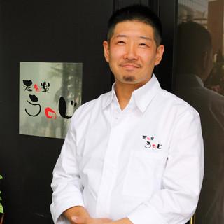 京料理の老舗で修行を積んだシェフが心を込めておもてなしします