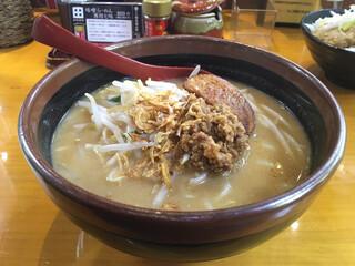 蔵出し味噌 麺場 田所商店 - 北海道味噌らーめん 803円。
