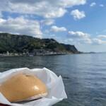のこぎり山カフェ - 料理写真:猪まん 350円