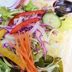 149466100 - 菜園サラダ ※テイクアウトのハンバーグにセット(フランボワーズ)