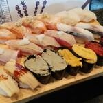 築地玉寿司 - 食べ放題②。