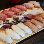 築地玉寿司 - 食べ放題①。