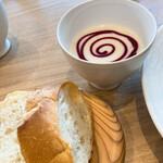 リストランテ クインディッチ - スープ&パン