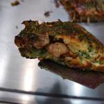 お好み焼き Sakura - ゴロゴロっとスジ肉たっぷり