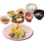 和食 さつき - 天ぷら定食