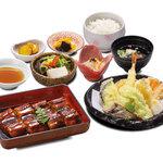 和食 さつき - うなぎと天ぷら定食