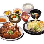 和食 さつき - 荒炊と天ぷら定食