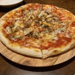 アンジェロ - * 色々キノコとセルバチコのピッツァ 1,400円