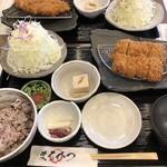 まるかつ - ヒレかつ定食