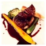 レストラン ミュゼ - フィレ肉のポワレ